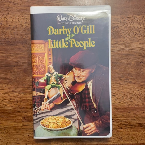Disney Darby O'Gill and the Little People VHS Tape